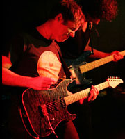 Guitarist Andy Abberley