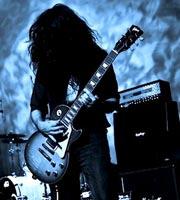 Guitarist Dani Macchi