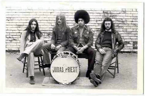 Judas Priest 1972 with Al Atkins
