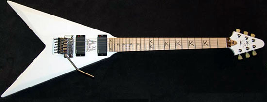 KK Downing KxK Signature Flying V Guitar
