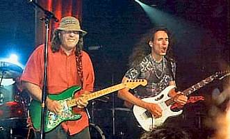 Mike and Steve Vai Live from the G3 Tour