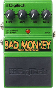 Digitech Bad Monkey Tube Overdrive