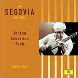 Segovia Plays Bach