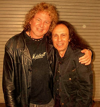 Dave Meniketti with Ronnie James Dio