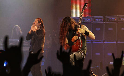 Gus G. live with Ozzy on the Scream Tour